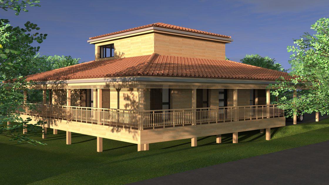 prévisualisation d'architecture en 3D