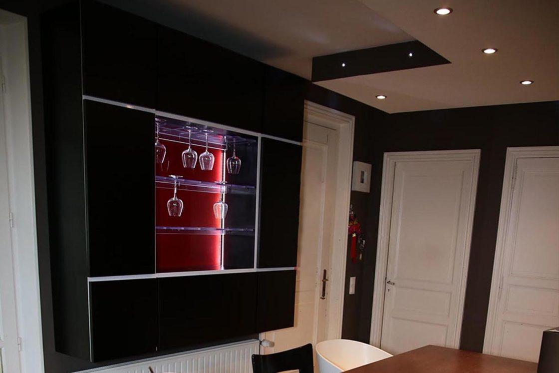 Réalisation design de mobilier Bar