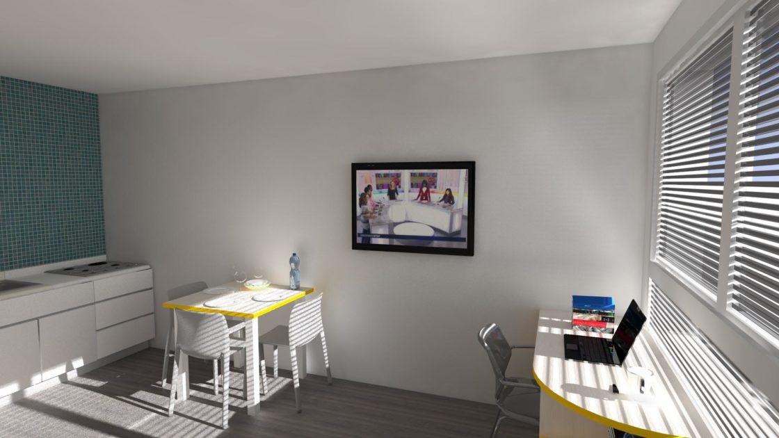 prévisualisation d'architecture intérieur en 3D