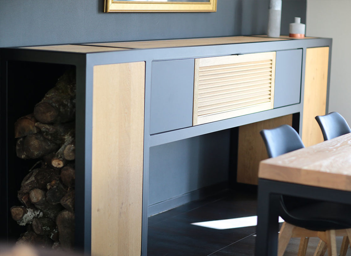 Gros plans sur Buffet - Mobilier Design