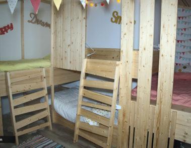 Réalisation de mobilier en bois